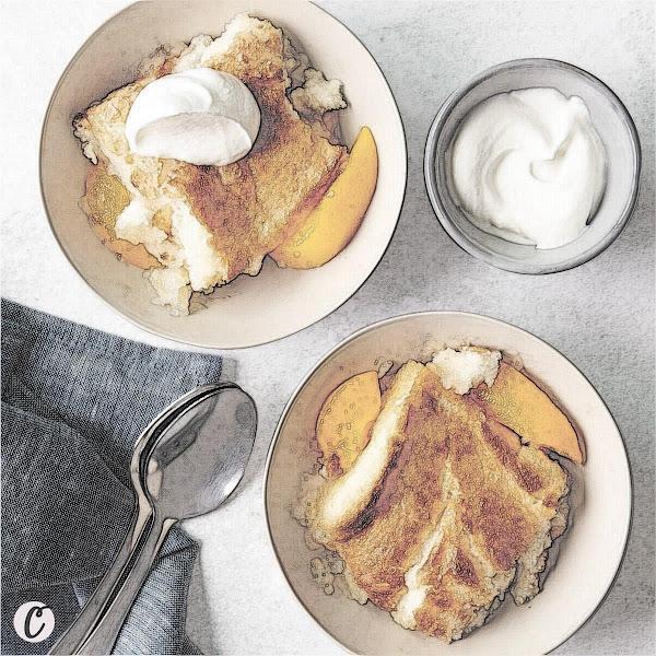 Peach 🍑 Cobbler