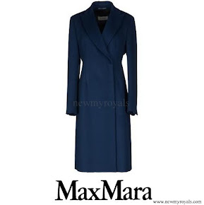 Crown Princess Mary wore Max Mara Wool Coat