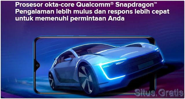 Prosesor okta-core Qualcomm SnapDragon Redmi 8