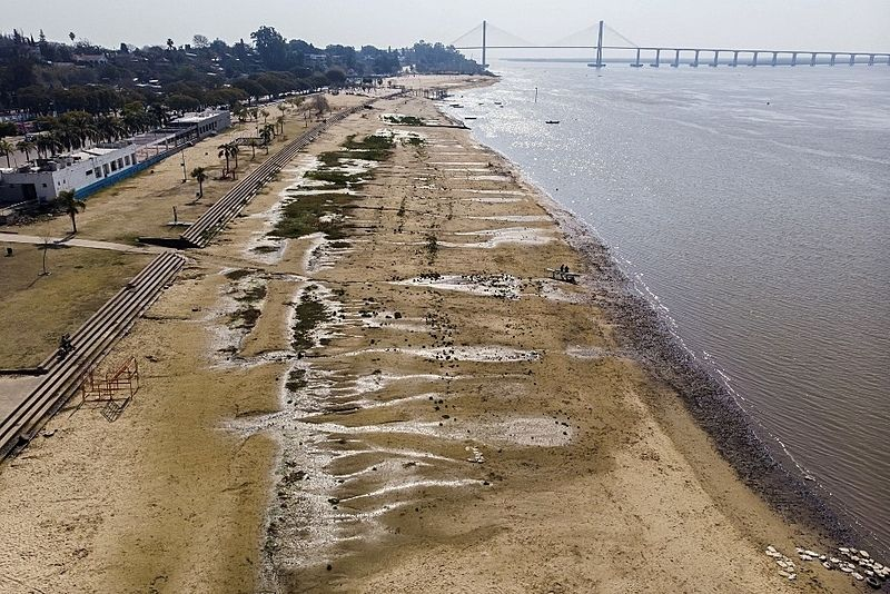 Dragagem do Rio Paraná em porto da Argentina preocupa ambientalistas