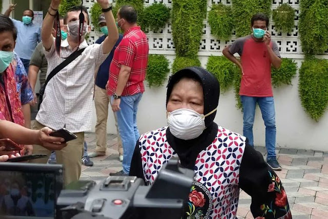 Surabaya Zona Hitam Virus Corona, Akibat Candaan Risma 2 Bulan Lalu?