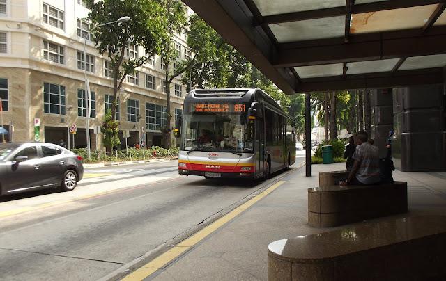 Cara Menggunakan Bus dan MRT di Singapore ?