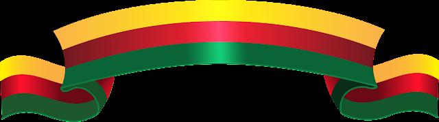 Flag of Kurdistan ribbon