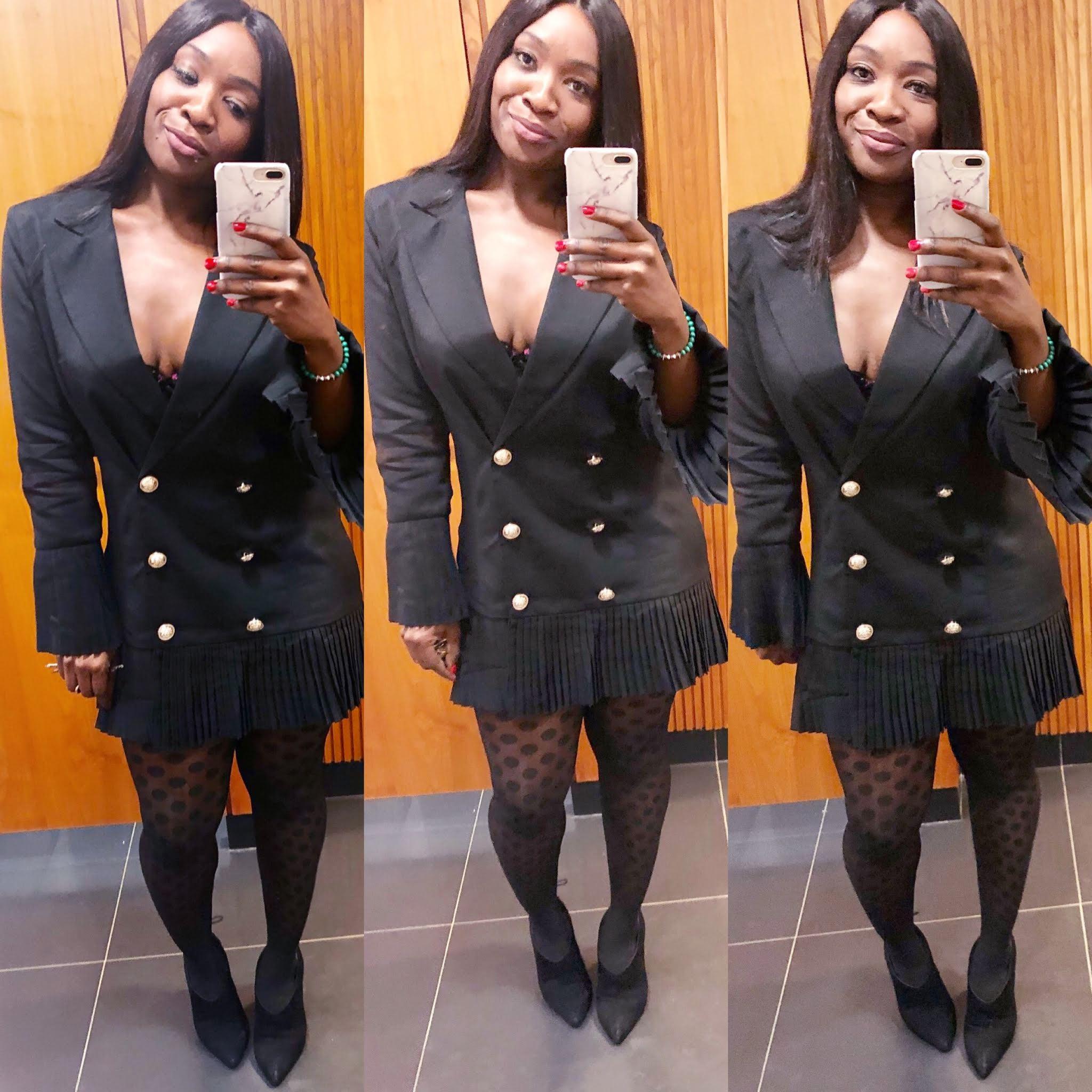 How to wear a Blazer Dress