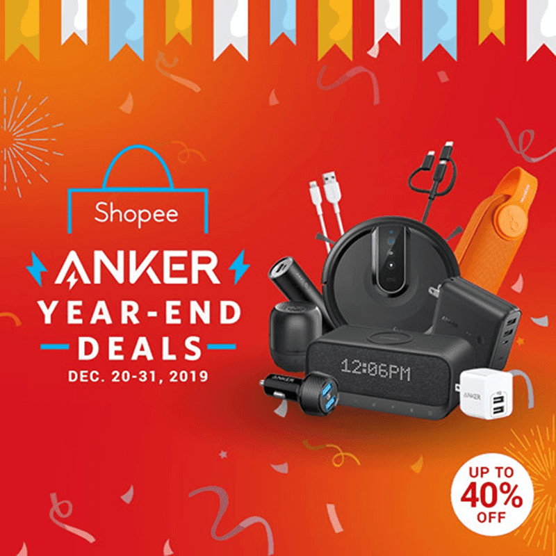 Sale Alert: Anker Philippines drops price of selected items for Shopee's Year-End deals