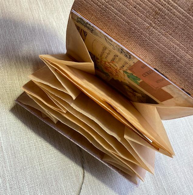 Small Ephemera Folder Using Tesco Sandwich Bags