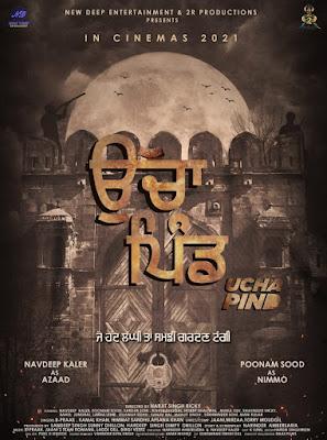 Ucha Pind (2021) Punjabi 720p HDRip x265 HEVC 770Mb