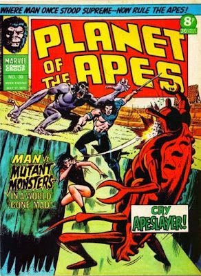 Marvel UK, Planet of the Apes #30, Apeslayer