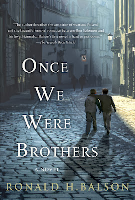 Once We Were Brothers by Ronald H. Balson - book cover