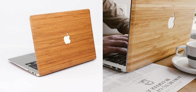 天然木を使ったiPhoneケース?MacBookカバー?スマホにも自然を【i】