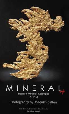 Mineral up. Benefit Mineral Calendar 2014. Foto de Joaquim Callén. Oro. 35 mm. Sata Elena de Uairen, Bolivar, Venezuela