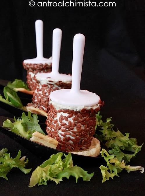 Mini Pops di Roquefort al Porto