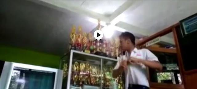 Viral Video Siswa Tantang Gurunya Duel, Begini Nasibnya Sekarang