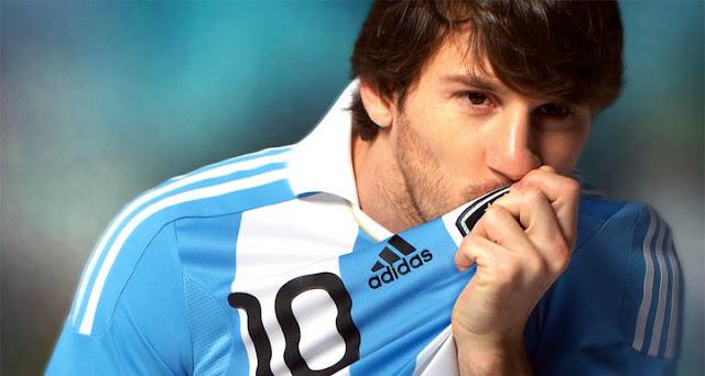 Lionel Messi kembali membela timnas Argentina