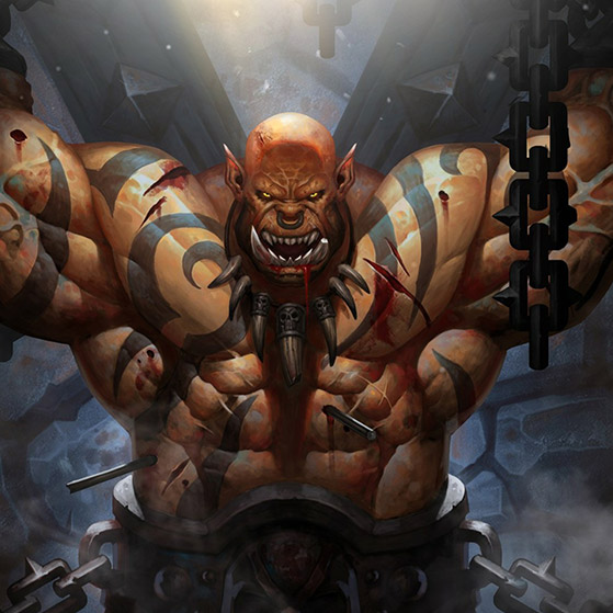 Garrosh Warcraft Wallpaper Engine