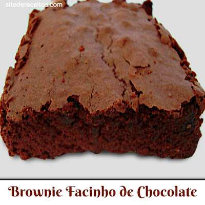 Brownie Facinho de Chocolate