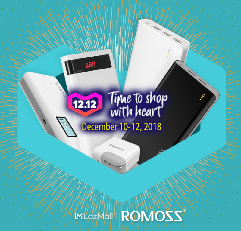 Sale Alert: Romoss puts its power banks on 50 percent off on 12.12