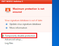 Cara Aktivasi Antivirus ESET NOD32 Full Version Selamanya
