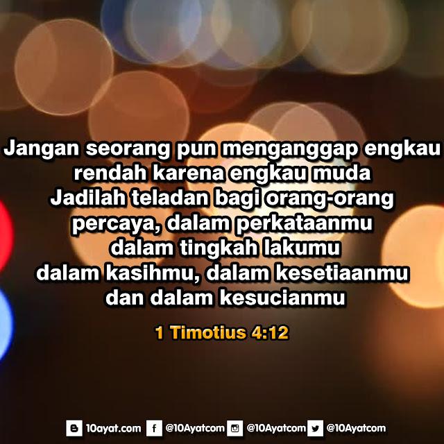 1 Timotius 4:12