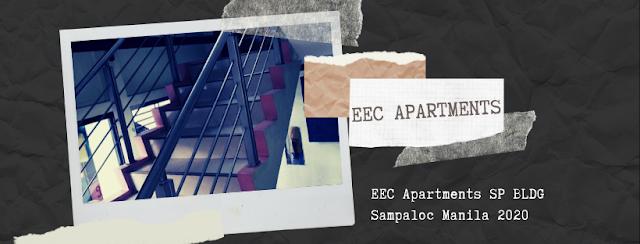 EEC Apartments SP BLDG Sampaloc Manila 2020