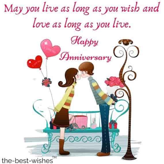the best wedding anniversary