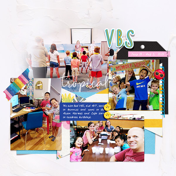 Scrapbook Page with Liz