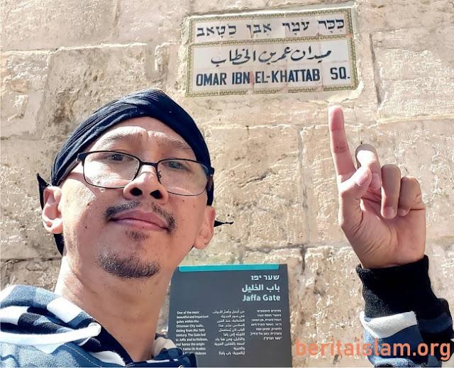 Abu Janda di Palestina