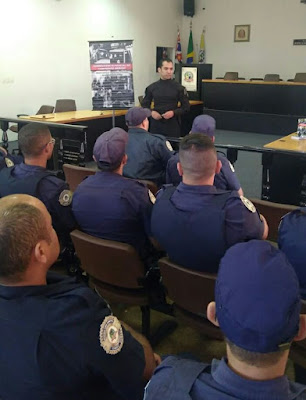 Palestra sobre Sobrevivência Policial