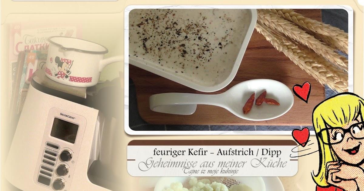 Janas steinzeit video kefir brotaufstrich dipp for Mr cuisine edition plus