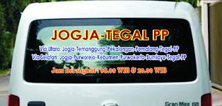 Jadwal Travel Jogja Tegal