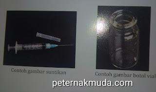 alat untuk melakukan inseminasi buatan pada unggas