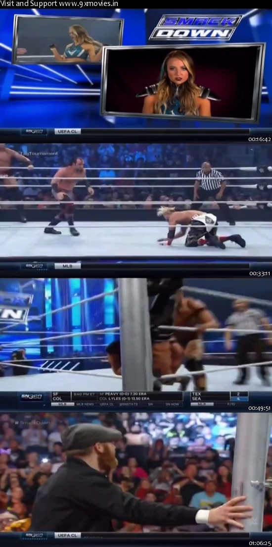 Download WWE Thursday Night Smackdown 14 April 2016 HDTV 480p 300mb