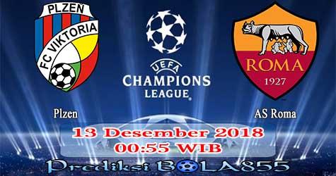 Prediksi Bola855 Plzen vs AS Roma 13 Desember 2018