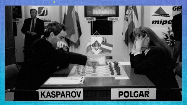Garry Kasparov Vs Polgar
