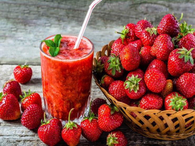 ماهي فوائد الفراولة ومافوائدها للجسم والبشرة