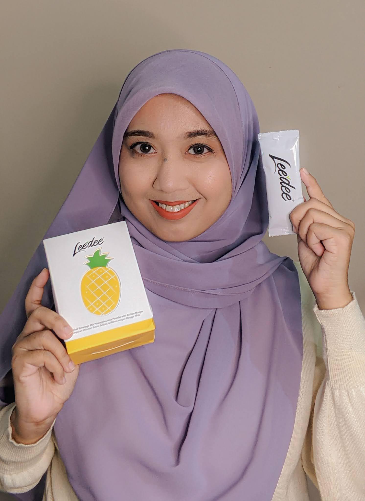 Leedee Pineapple dan Leedee Tox Peach Minuman Botani ada Kelulusan Ke?