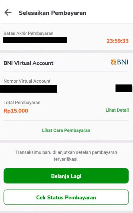 Cara Bayar Virtual Account BNI dari Mobile Banking BCA