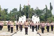 Peringati Hari Bhayangkara, Polres Pandeglang Menggelar Upacara Ziarah Rombongan di TMP