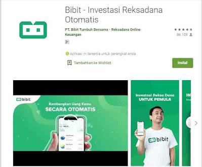 Aplikasi Investasi Modal Kecil