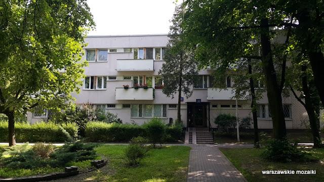 Warszawa Warsaw Żoliborz osiedle Skibniewska sady bloki zieleń