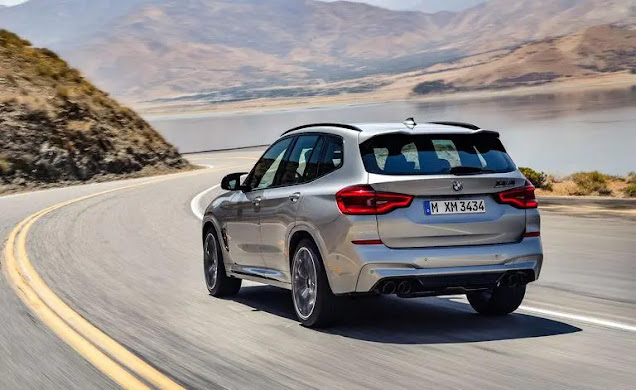 The new BMW X3 M technology