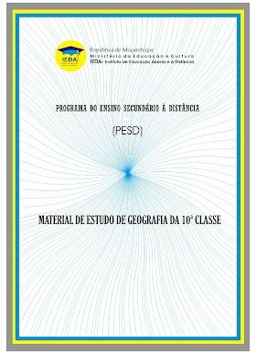 Módulo de Geografia 10ᵃ Classe