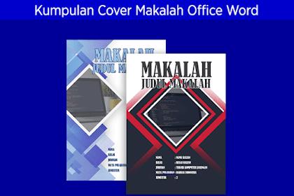 Kumpulan Contoh Jilid/Cover Makalah Microsoft Office Word Kreatif dan Menarik #Bagian 4