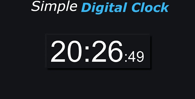Build a Simple Digital Clock with JavaScript, HTML and CSS