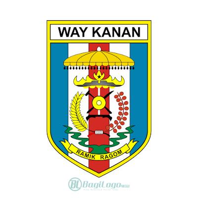 Kabupaten Way Kanan Logo Vector