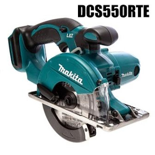 mesin potong besi baterai makita DCS550RTE, bar cutter cordless makita