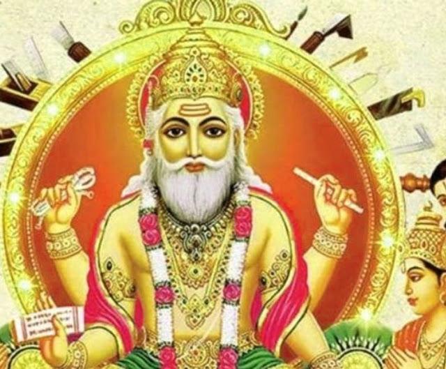 vishwakarma murti image