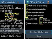 Cara Mudah Menggunakan AdFree, Menghilangkan Iklan Full Screen di Layar Android Saat Terkoneksi Internet (Rooted)
