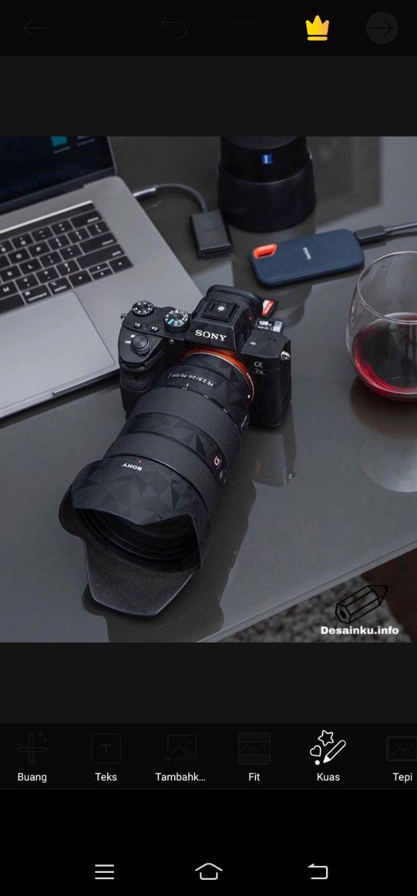 Cara Membuat Watermark Foto di aplikasi Picsart