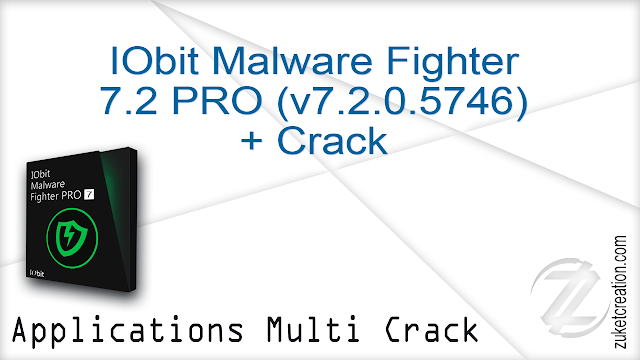 IObit Malware Fighter 7.2 PRO (v7.2.0.5746) + Crack